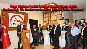 Başkan Elçi, 'Ne Cumhur ne de Millet İttifakı Çözüm Üretemez'