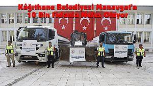 Kâğıthane Belediyesi Manavgat'a 10 Bin Fidanla Nefes Oluyor