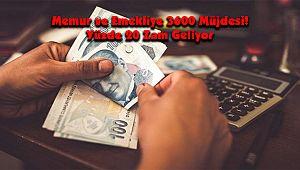 Memur ve Emekliye 3600 Müjdesi! Yüzde 20 Zam Geliyor