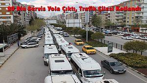 20 Bin Servis Yola Çıktı, Trafik Çilesi Katlandı