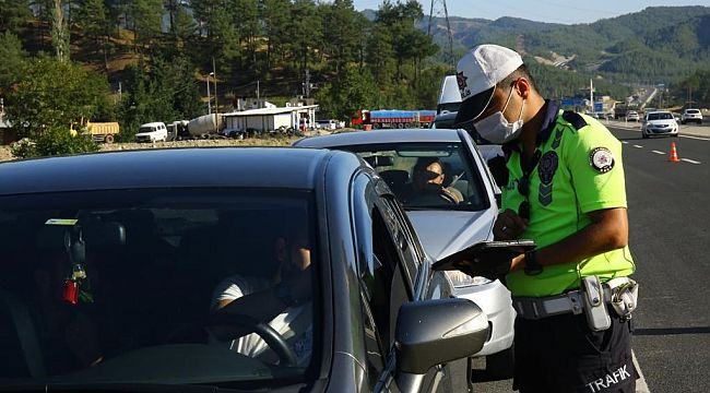 3 günde 25 bin sürücüye hız ihlalinden CEZA