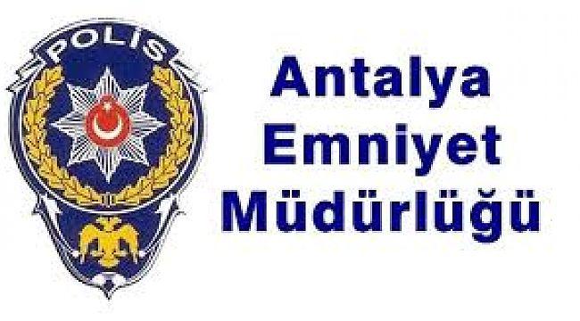Antalya Emniyette Birim Müdürleri Değişti