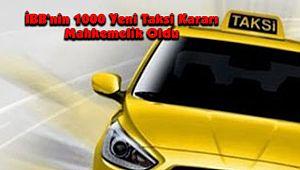İBB'nin 1000 Yeni Taksi Kararı Mahkemelik Oldu