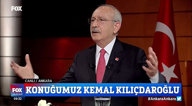 Kılıçdaroğlu :