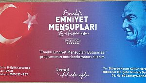 Kılıçdaroğlu'nun Emekli Emniyet Mensupları Buluşması 29 Eylül'de