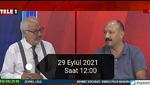 Polis sorunları yarın TELE 1 TV'de anlatılacak