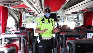 Şehirlerarası otobüslerde KAÇAK YOLCU denetimi