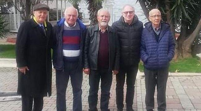 Emekli Polis Müdürleri kahvaltıda Buluştu