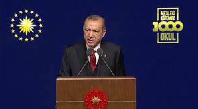 Erdoğan :