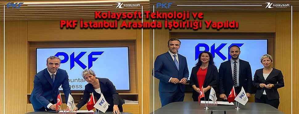 Kolaysoft Teknoloji ve PKF İstanbul Arasında İşbirliği Yapıldı