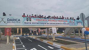 Trafik Eğitim Parkı Törenle Açıldı
