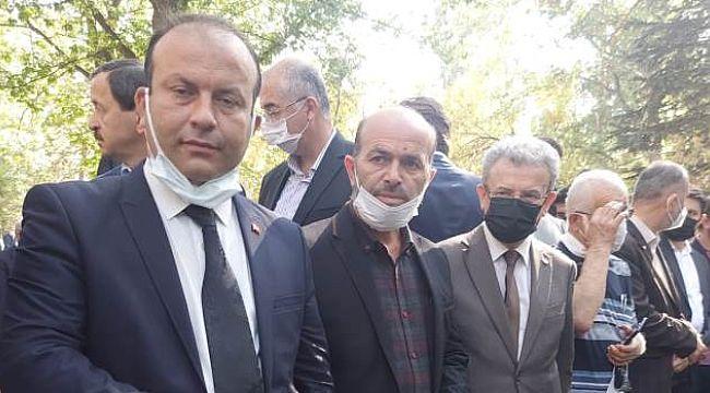 Umut Partisi Genel Başkanı Bozkurt'tan Saadet Partisine Taziye Ziyareti