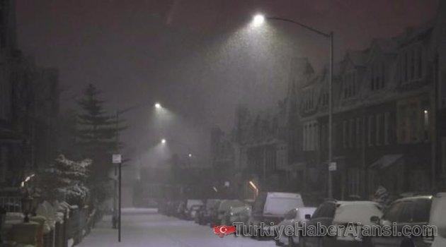 ABD'de Kar Fırtınası: 8 Bin Uçak Seferi İptal