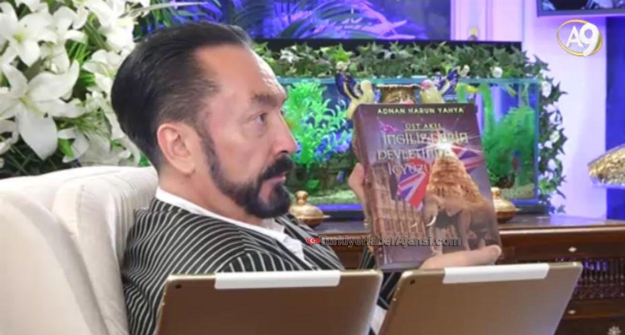 Adnan Oktar'dan 'Üst Akıl İngiliz Derin Devletinin İçyüzü' Kitabı