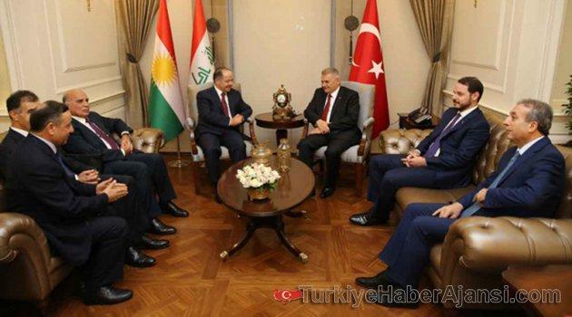 Başbakan Yıldırım Barzani İle Telefonda Görüştü