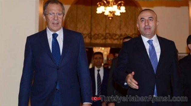 Çavuşoğlu Lavrov İle Görüştü