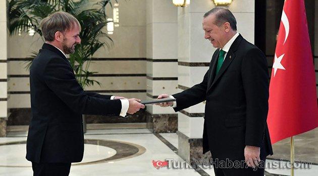Cumhurbaşkanı Erdoğan Sadoviç'i Kabul Etti