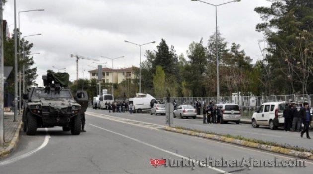 Diyarbakır'da Yoğun Güvenlik Önlemleri!