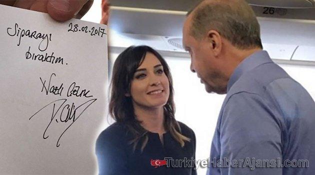 Erdoğan Nazlı Çelik'e Sözleşme İmzalattı!