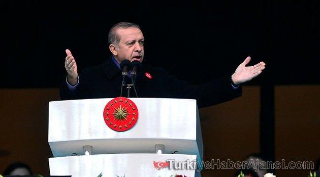 Erdoğan Vodafone Arena'da Konuştu