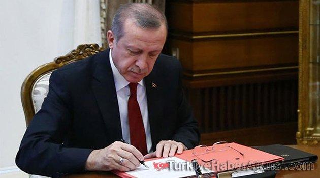 Erdoğan'dan İki Kanuna Onay!