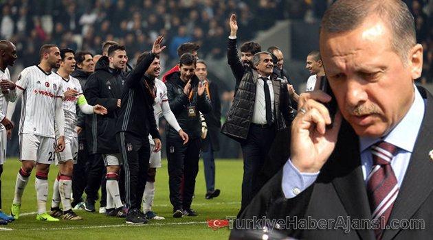 Erdoğan'dan Şenol Güneş'e 'Size Kupa Yakışır...'