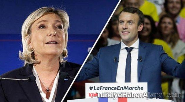 Fransa'da Cumhurbaşkanlığı Seçimleri İkinci Tura Kaldı