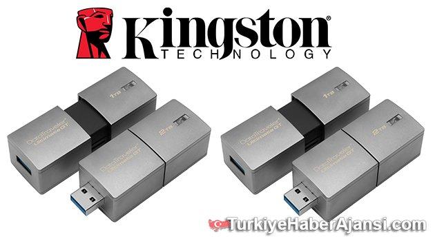 2TB Kapasiteli USB Flash Bellek
