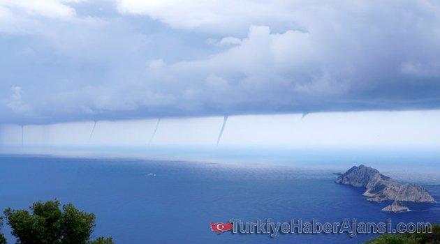 Antalya'da İnanılmaz Görüntü!