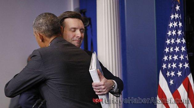 Beyaz Saray'a Veda Etti