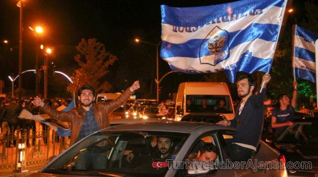 Erzurum'da Yer ve Gök Mavi Beyaz