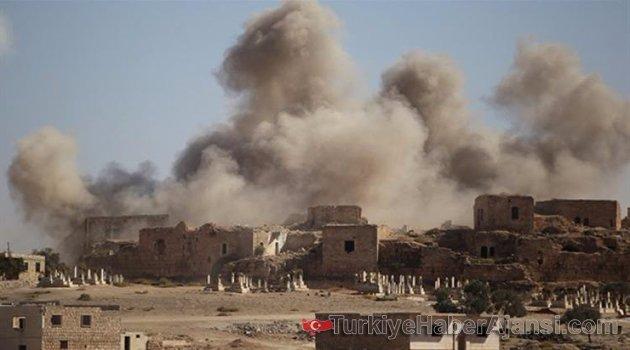Esed'e Ağır Bombardıman! 30 Ölü