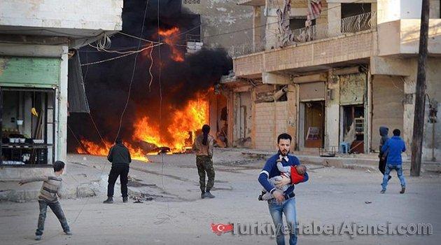 İdlib'e Hava Saldırısı! 13 Sivil Öldü!
