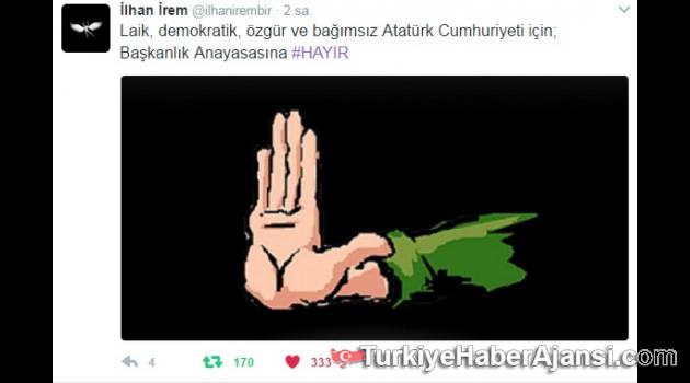 İlhan İrem, Başkanlık Anayasasına #HAYIR dedi!