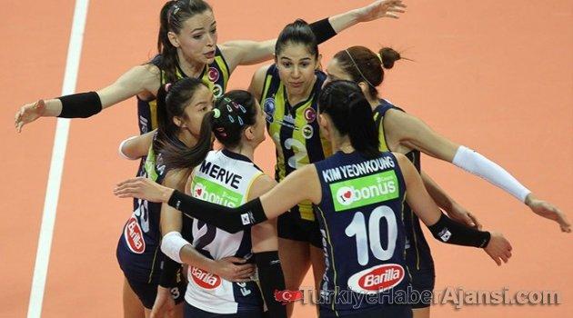 Kupa Voley Kadınlar'da Şampiyon Fenerbahçe