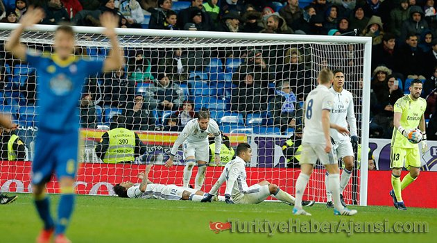 Real Madrid'e Kupa Şoku!
