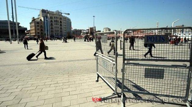 Taksim'de Hazırlıklar Başladı!