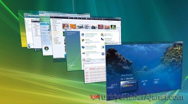 Windows Sürümü Vista Tarih Oluyor
