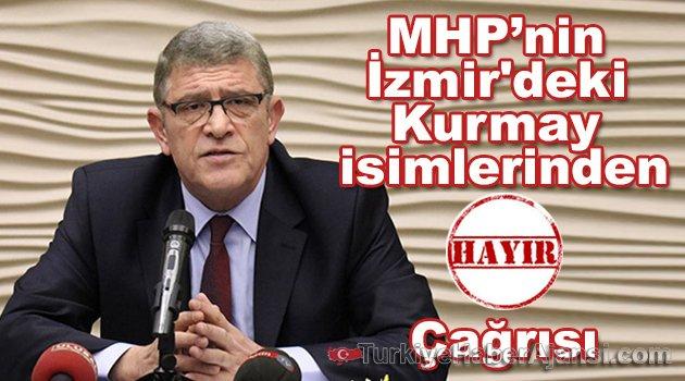 MHP'nin İzmir'deki Kurmay İsimlerinden 'HAYIR' Çağrısı