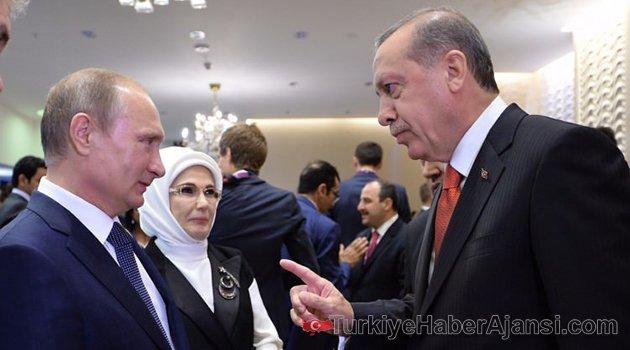 Putin'den Erdoğan'a 'Astana' Teklifi!