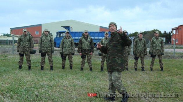 'Söz' İçin Askeri Eğitim Aldılar