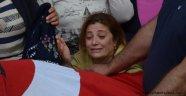 Hopa'da Cenazeler Türk Bayrağına Sarıldı
