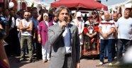 10. Altın Eller Geleneksel El Sanatları Festivali Başladı
