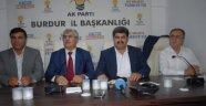 AK Parti Burdur Adaylarını Tanıttı