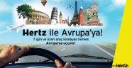 Hertz'den Avrupa'ya Uçuran Kampanya