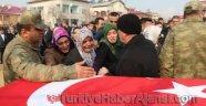 Şehit Uzman Çavuş Aktaş'ı 5 Bin Kişi Uğurladı