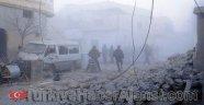 Halep'te Kimyasal Bomba Tehdidi