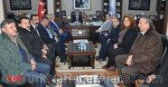 Uysal ve Saylar Başkan Aksoy'u Ziyaret Etti