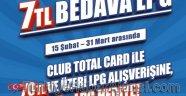 Club Total İle 7 TL Bedava Yakıt Kazanma Şansı