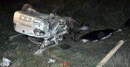 İki Otomobil Kafa Kafaya Çarpıştı: 2 Ölü